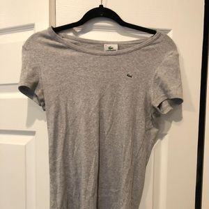 Lacoste Ribbed T-shirt